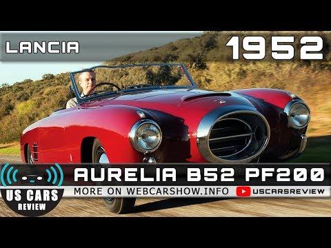 1952 LANCIA AURELIA B52 PF200 Review Release Date Specs Prices