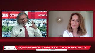 Interview de Julie Compagnon à la Matinale du pôle finance du Groupe Ficade vendredi 02 avril 2021