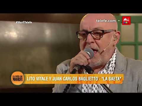 Juan Carlos Baglietto canta