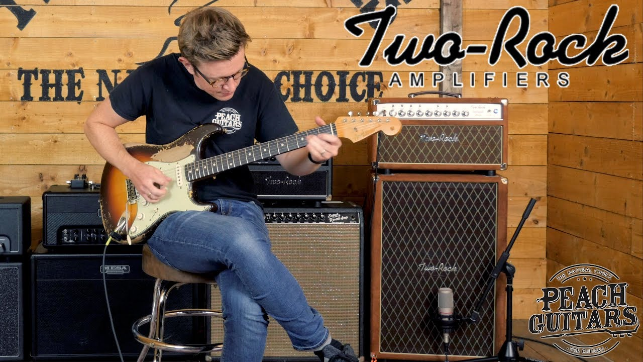 john 39 s new amp custom two rock bloomfield drive youtube. Black Bedroom Furniture Sets. Home Design Ideas