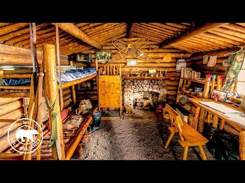 Proenneke's Log Cabin Tour | Off Grid Cabins In Alaska | My Perspective