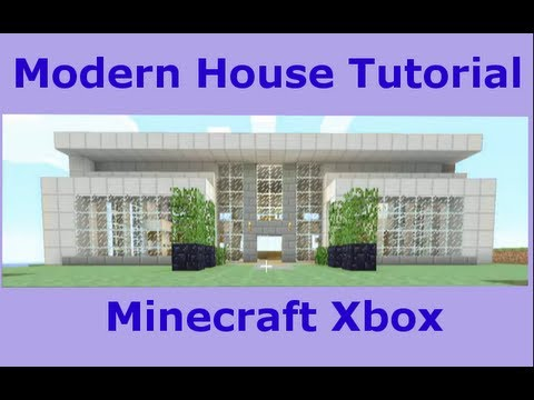 Modern Mansion Tutorial Minecraft Xbox 360 #1