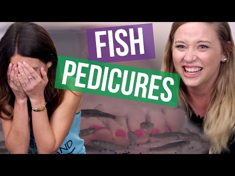 CRAZY Fish Pedicures (Beauty Break)