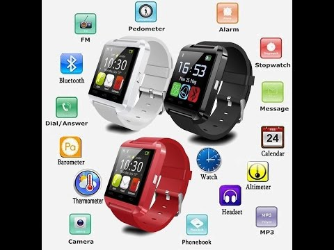 U8 Smart Watch For iPhone 6 on Firmware 9.2 and Small Review