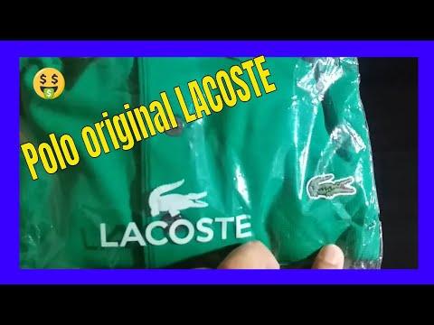 Unboxing da Netshoes #Camisa polo Lacoste super light #Lacoste original