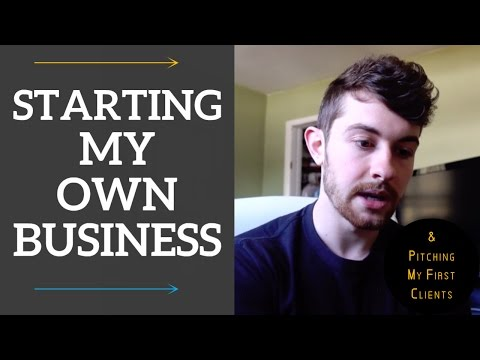 Starting BDGE Vlog   Week 1   Pitching My First Clients