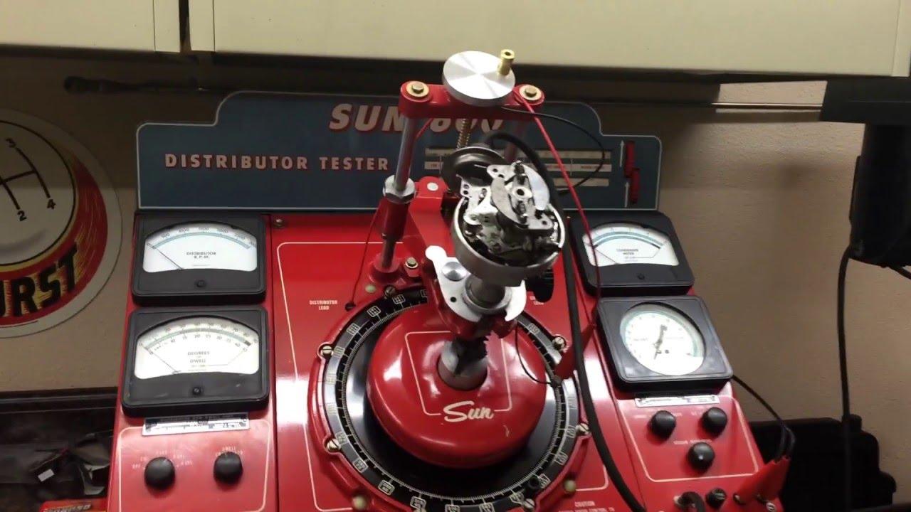 Sun 600 Distributor Machine