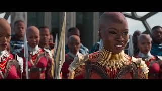 BLACK PANTHER Car Chase Fight Scene Movie Clip + Trailer 2018 Marvel Superhero Movie HD