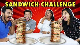 ULTIMATE SANDWICH CHALLENGE | VEG SANDWICH EATING COMPETITION | सैंडविच ईटिंग चॅलेंज