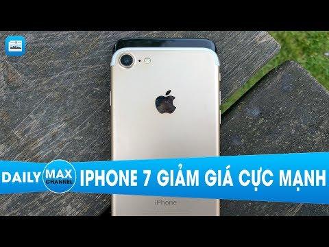 Maxdaily 19/09: iPhone 7 giảm giá sâu, nhường chỗ iPhone 8