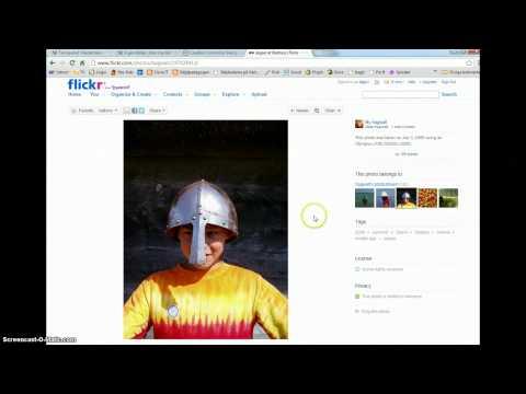 Sök bilder med CC search