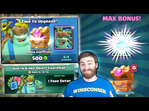 NEW CARD CHEST OFFERS & GOBLIN GIANT CHALLENGE! | Clash Royale | NEW CARD OFFER OPENING!