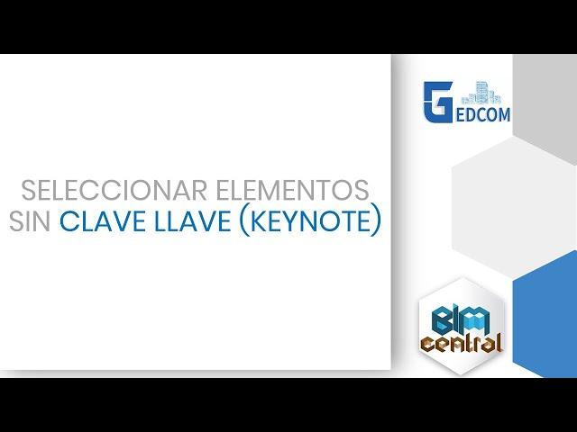 Como seleccionar los elementos sin Keynote en Revit con Dynamo