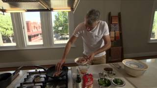 Grilled Chicken With Lemon & Almond Couscous Featuring Adam Swanson