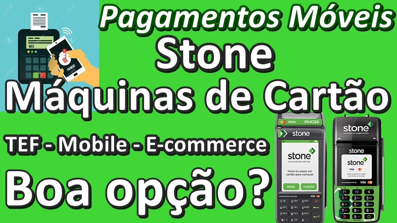 30ebf9e10 Stone Pagamentos - Boa Opção? #PagamentosMóveis - YouTube