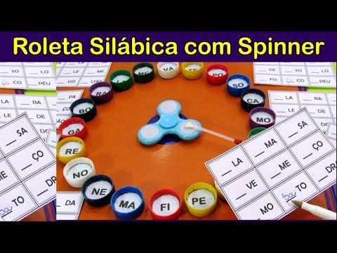 Roleta Silabica Com Spinner Youtube