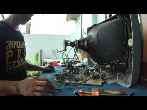 Memperbaiki TV TOSHIBA 21
