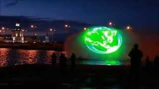 Билайн. Мультимедийное водно-лазерное шоу в Чебоксарах