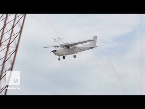 See NASA Drop Another Plane From 100 Feet in the Name of Safety   Mashable News