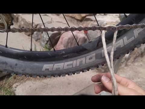 Remove sram or kmc quick link the easy tooless string method