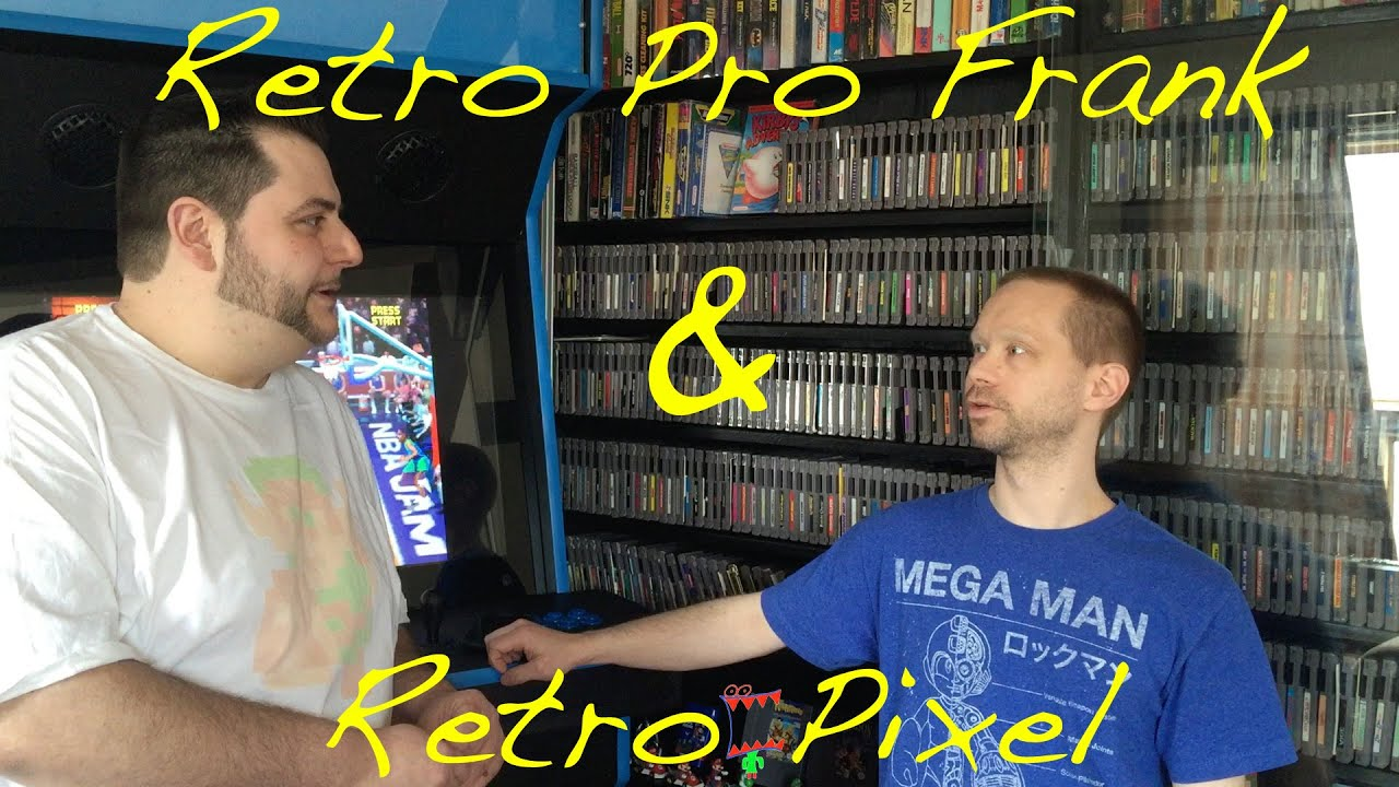 RETRO PRO FRANK AND RETRO PIXEL JAMES DISCUSS BENEFITS OF HYPERSPIN