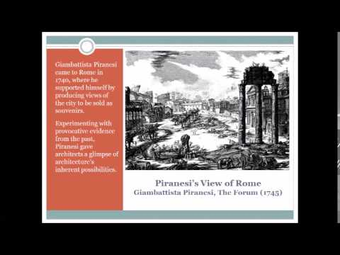Neoclassical history of architecture