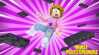Roblox Crumble Escape Obby Con Molly! - Los Juegos de Los Héroes del Juguete