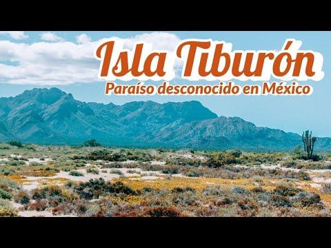 Isla Tiburon la más grande de México está en Sonora