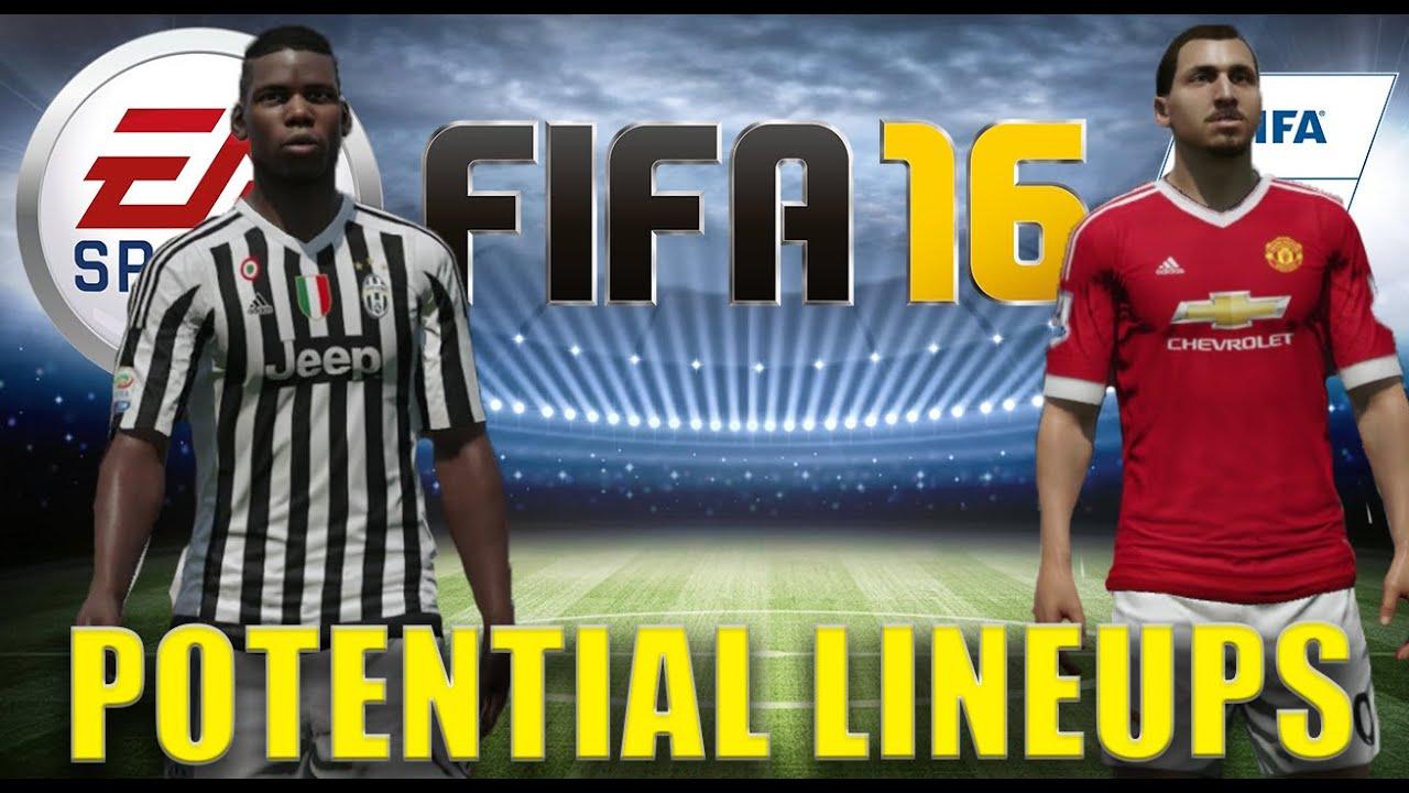 Potential Fifa 17