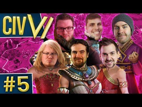 Civ VI - Ladies Night #5 - Sexy Trigonometry