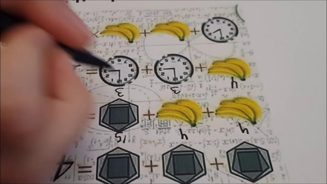 какой задачка в картинках на логику с бананом и часами снял обвинения