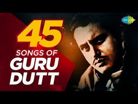 Top 45 Songs Of Guru Dutt | गुरु दत्त के 100 हिट गाने | HD Songs