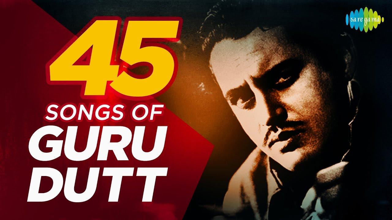 List of Guru Dutt songs from his movies