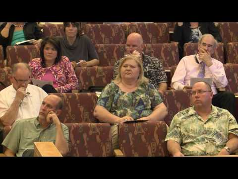 Minister and Officiant Meeting - May 10, 2016