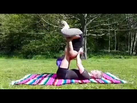 Thai (Yin Yoga) Massage & Therapeutics in Acro Yoga Flying