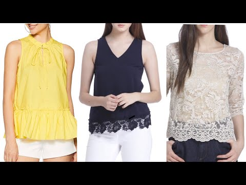 Latest,Trendy And Stylish Tops Designs 2019 for Girls|Fashion Tops For Girls|Best tops on Amazon |