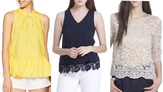 Latest,Trendy And Stylish Top Designs 2019 for Girls|Fashion Tops For Girls|Best tops on Amazon |