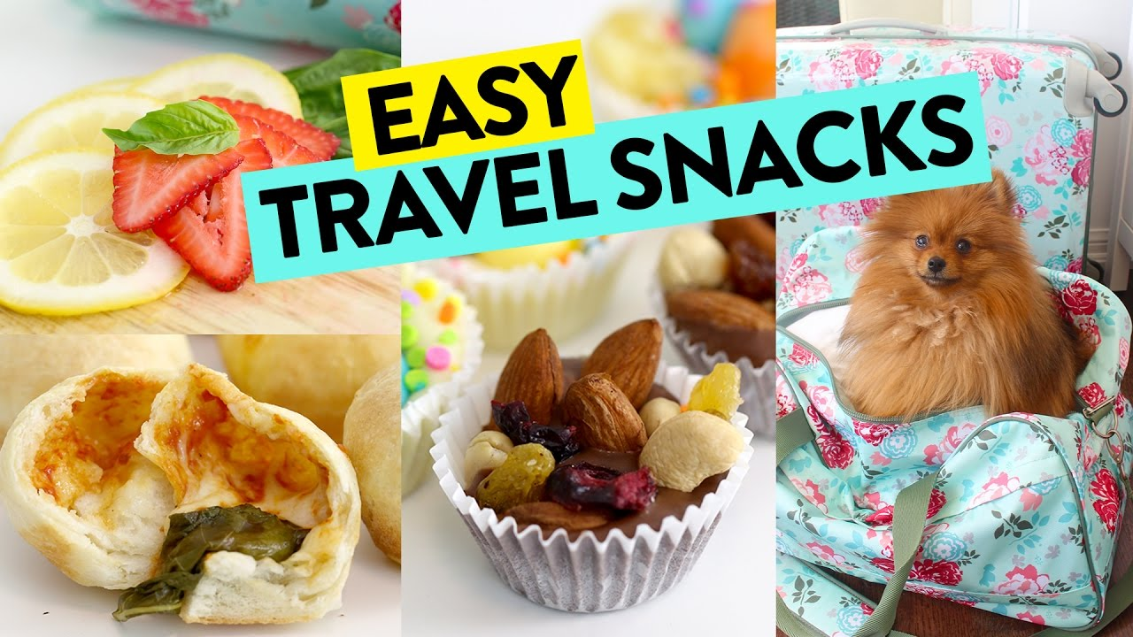 3 easy travel snacks recipes on the go recipe youtube 3 easy travel snacks recipes on the go recipe forumfinder Images