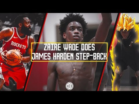 Zaire Wade Step Back JAMES HARDEN TAUGHT HIM in All Star Gam