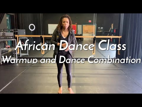 Open Level African Dance Class