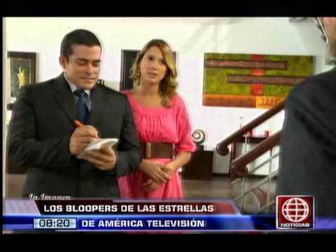 Diviértete con los bloopers de las estrellas de América Televisión