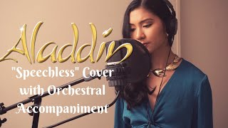 """Speechless"" Naomi Scott - Aladdin (Cover with Orchestral accompaniment)"