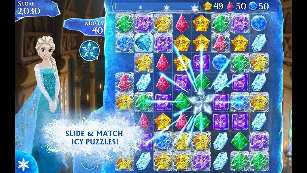 Uncategorized Frozen Free Online frozen free fall disney android iphone ipad gameplay youtube