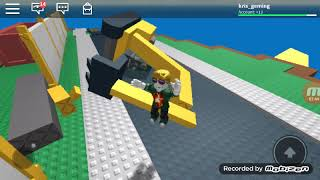 Playing roblox up to the listening laughing