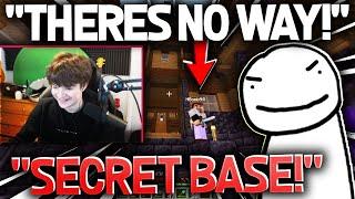 Tubbo FINDS A SECRET BASE ON DREAM SMP!