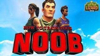 HOW TO TRAIN YOUR NOOB * SEASON 5 *Fortnite Short Film