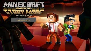 Minecraft Story Mode Season 2 Episode 3 Jailhouse Block No Commentary