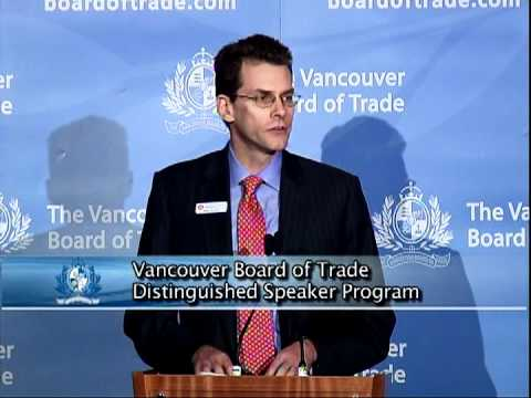 Port Metro Vancouver CEO Robin Silvester addresses The Vancouver Board of Trade