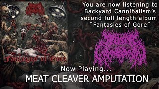BACKYARD CANNIBALISM - FANTASIES OF GORE [OFFICIAL ALBUM STREAM] (2019) SW EXCLUSIVE
