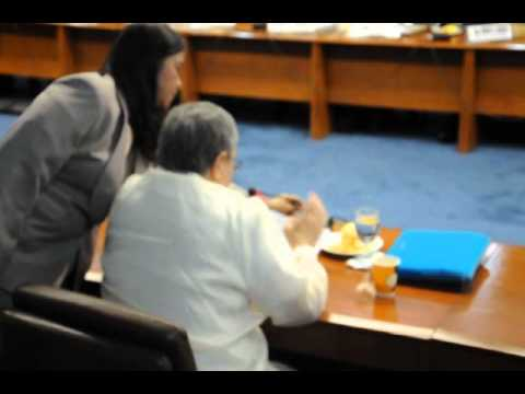 the testimony of mr.marcial lichauco at the senate hearing